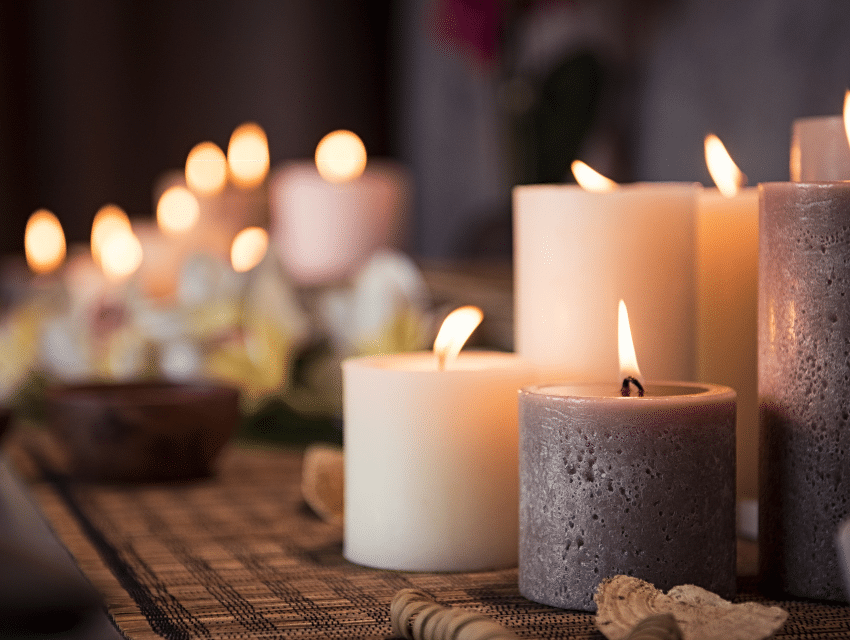 evaluate your home for christmas guests candles warm cosy decor