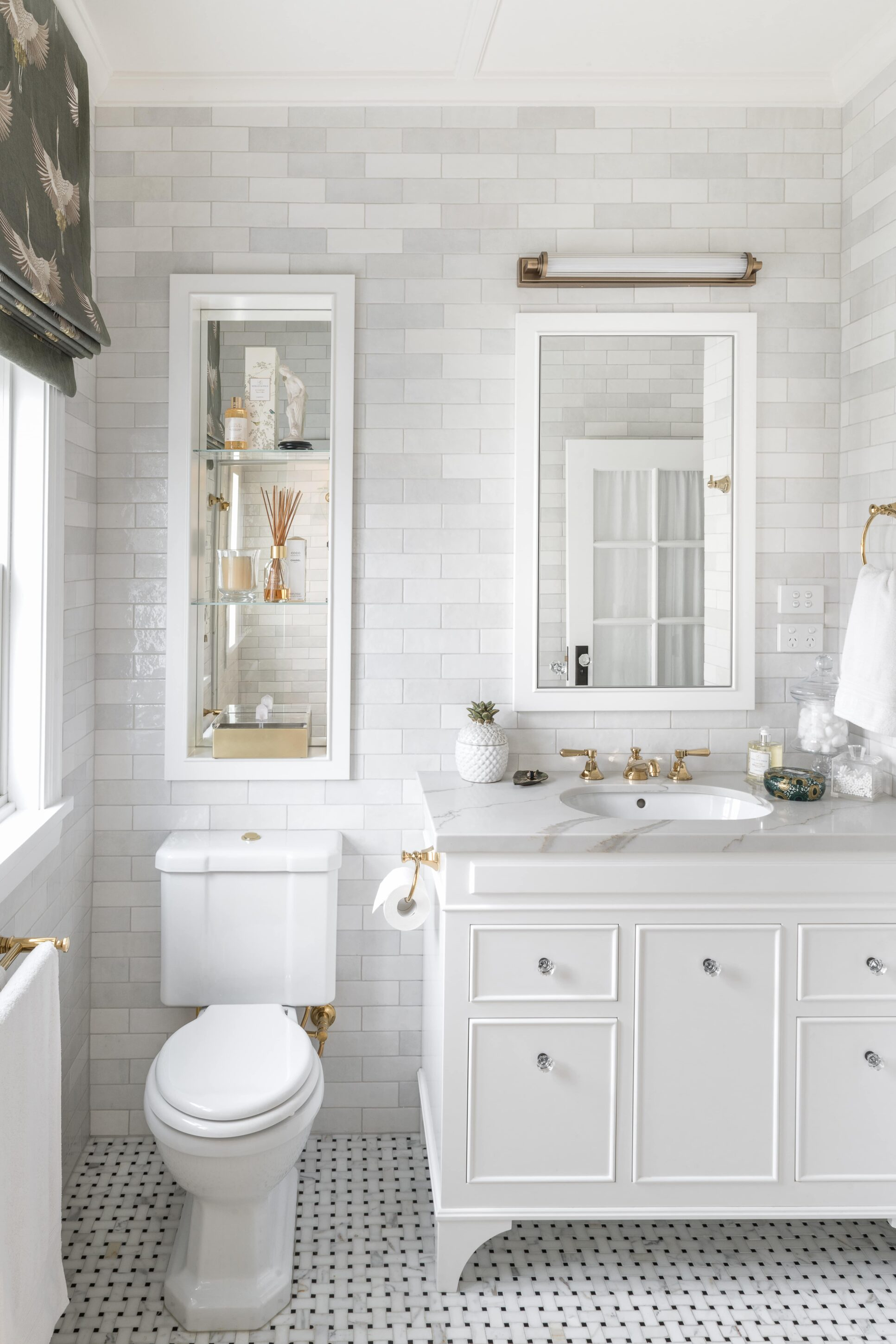 Nadine's Bathroom Reno: After | Journey Home | Blog