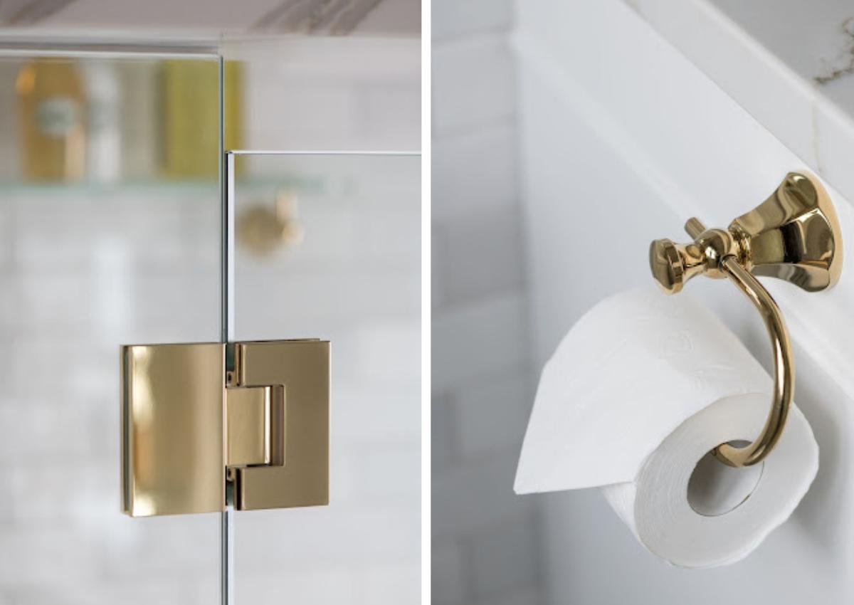 journey-home-canberra-au-bathroom-renovation-details-after-renovation-gold-door-hinge-gold-toilet-paper-holder