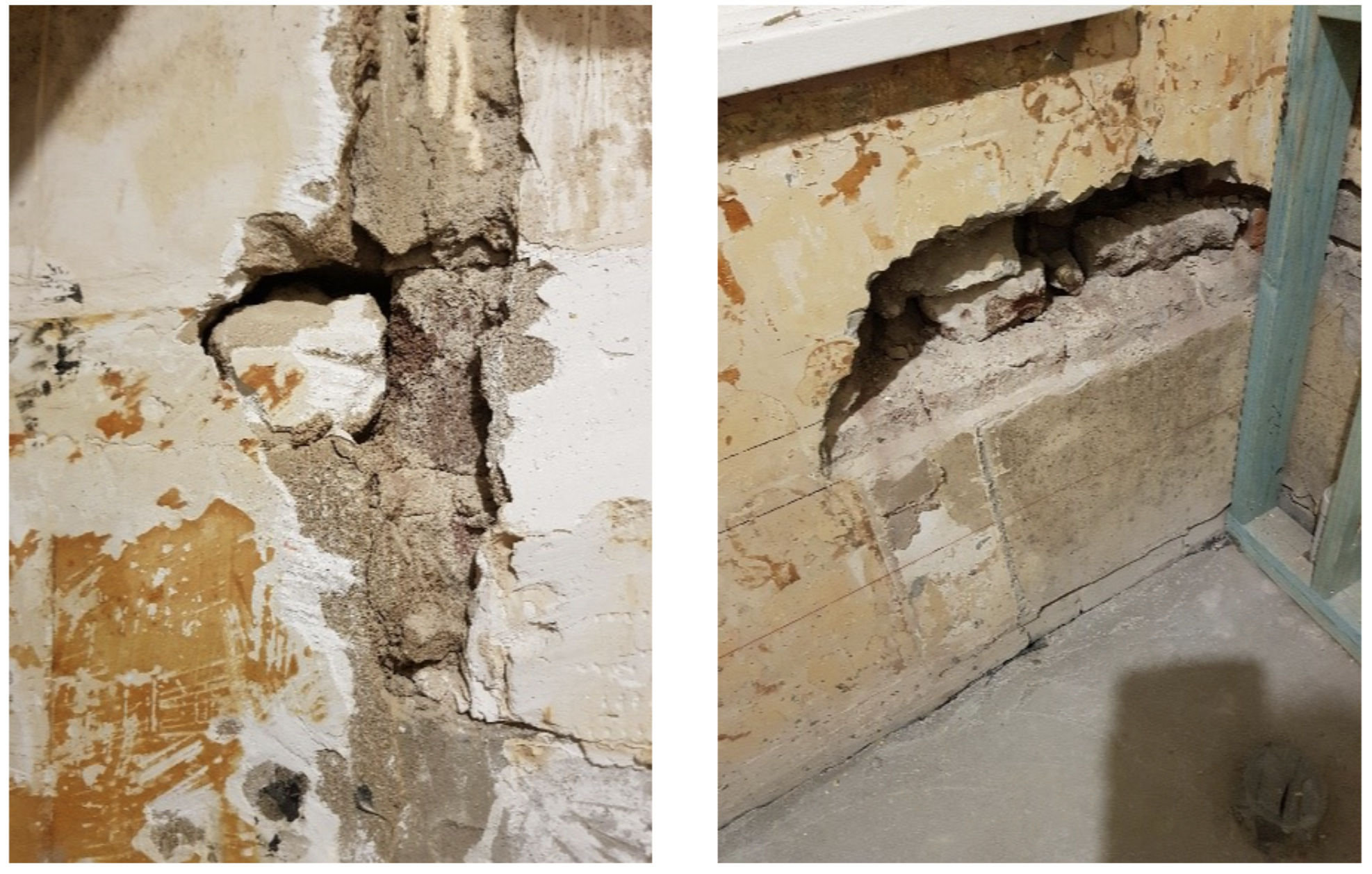 journey-home-interiors-forrest-demolition-1930s-bathroom-renovation-crumbling-wall-found-during-tile-removal