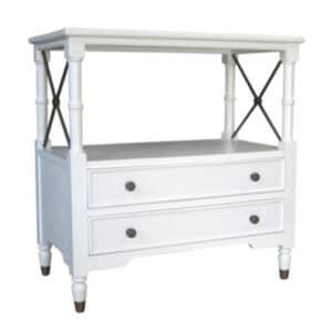 Grand Caymen Bedside Cabinet | Journey Home Shop